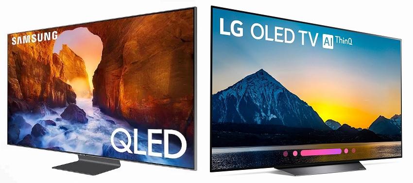 Samsung QLED LG OLED