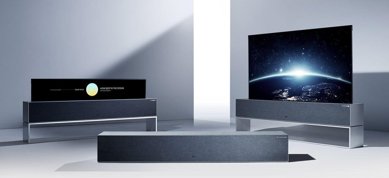 LG SIGNATURE OLED R1