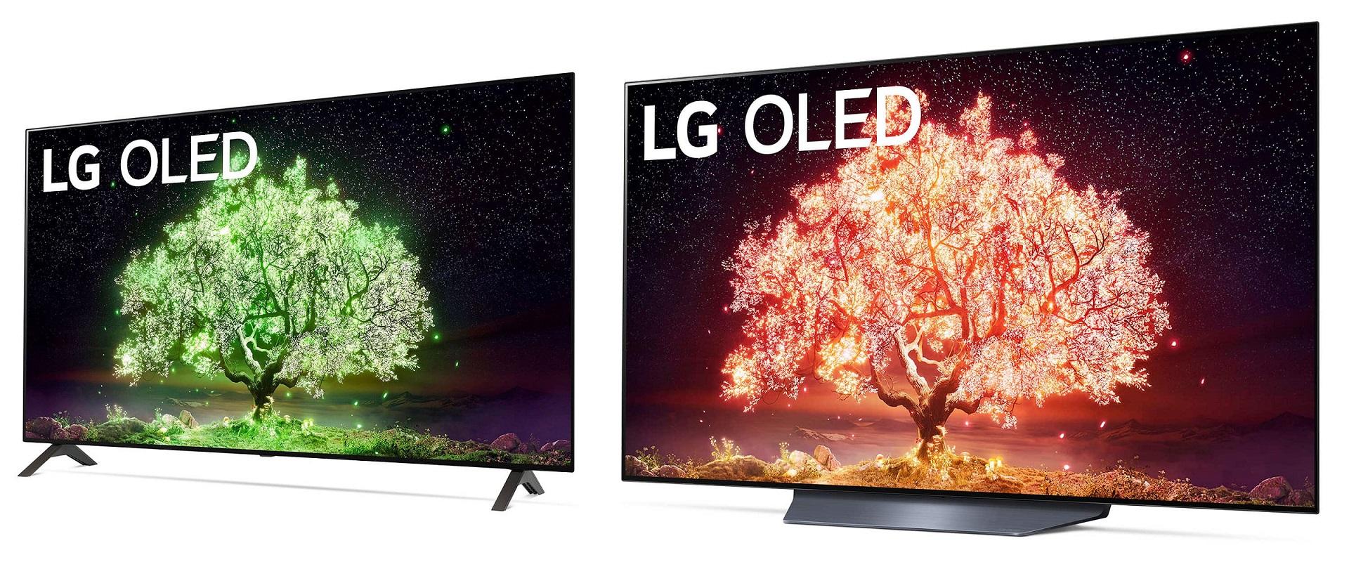 LG OLED A1 B1 TV 2021