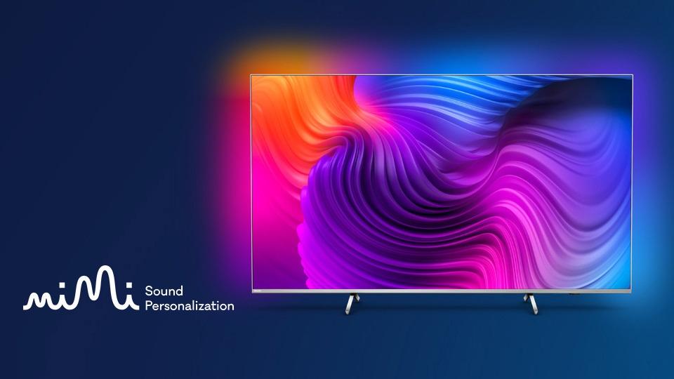 Philips 2021 TV Mimi Sound Personalization