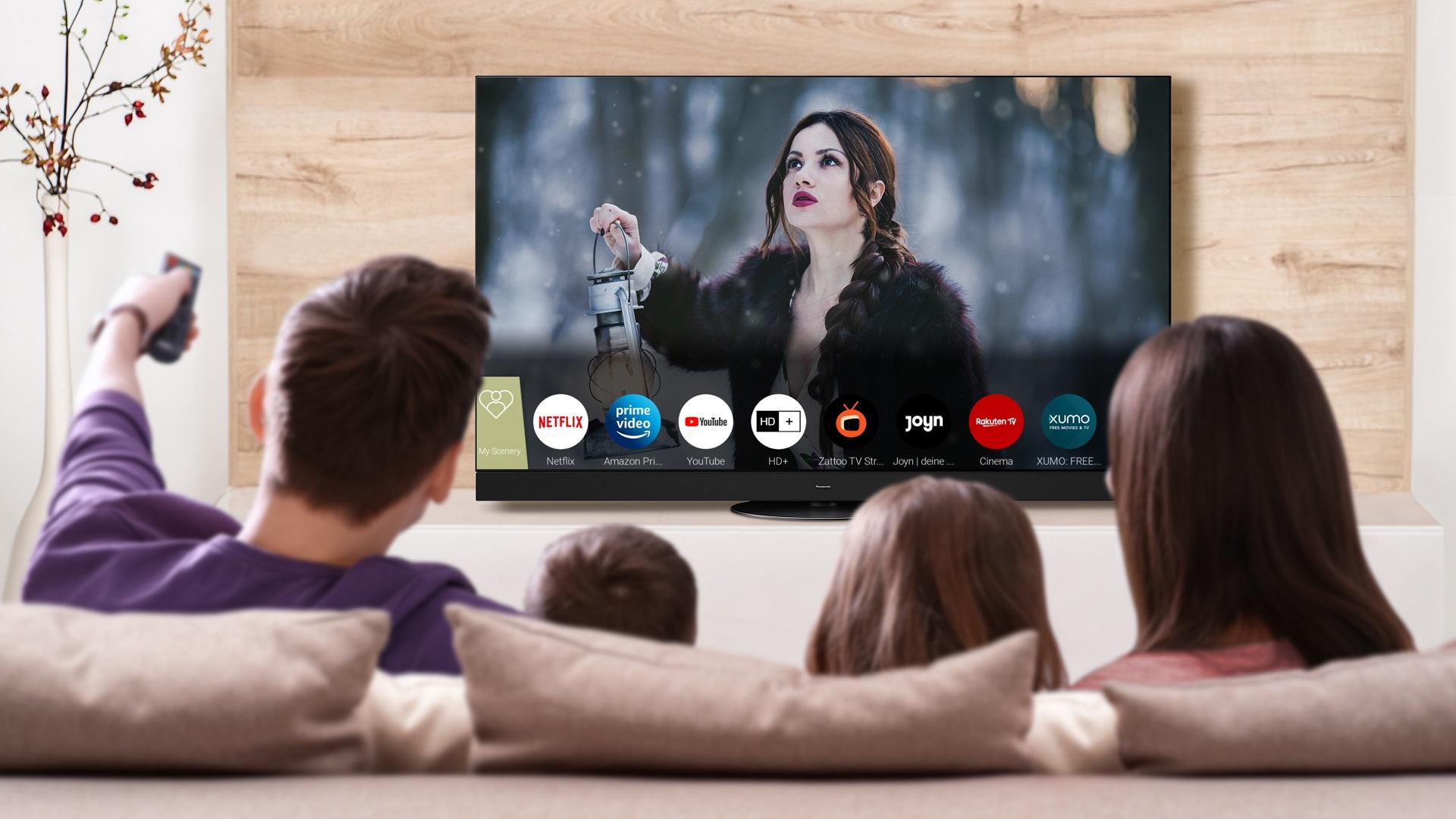 Panasonic 2021 My Home Screen