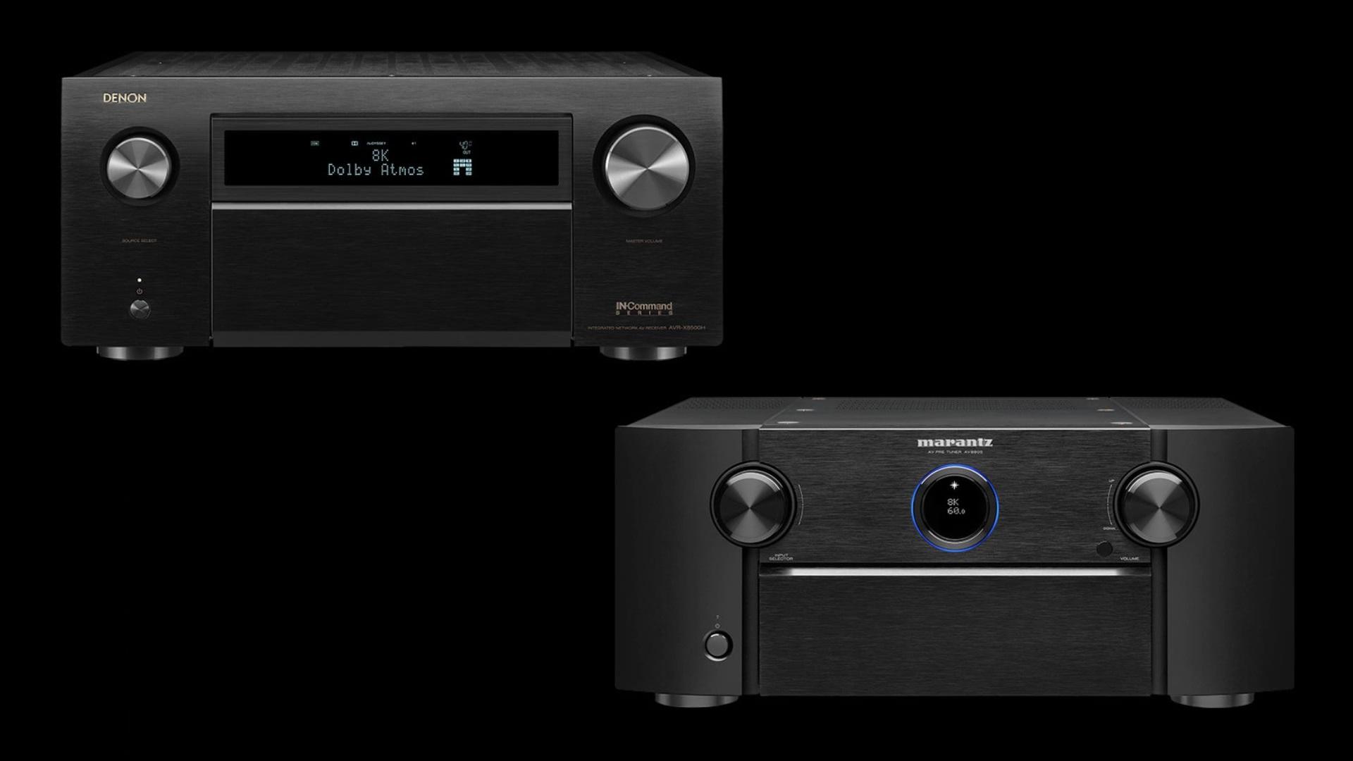 Denon AVR-X8500H és Marantz AV8805