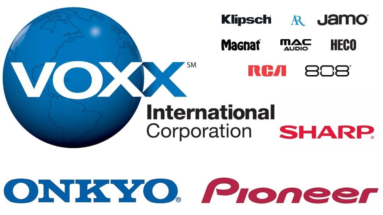 VOXX Onkyo és Pineer