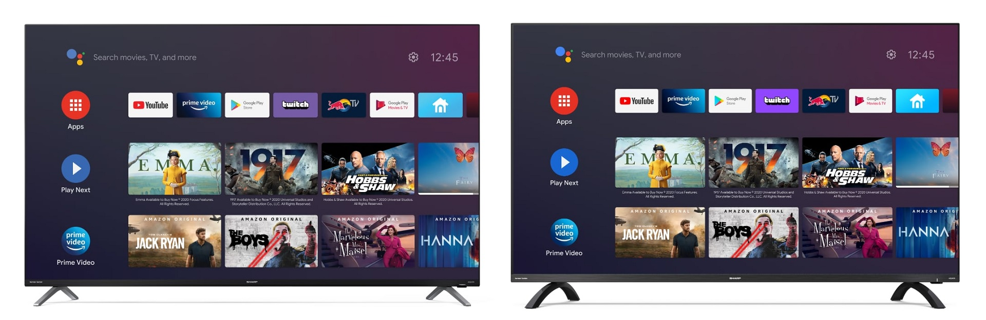 Sharp DN és DL Android TV-k