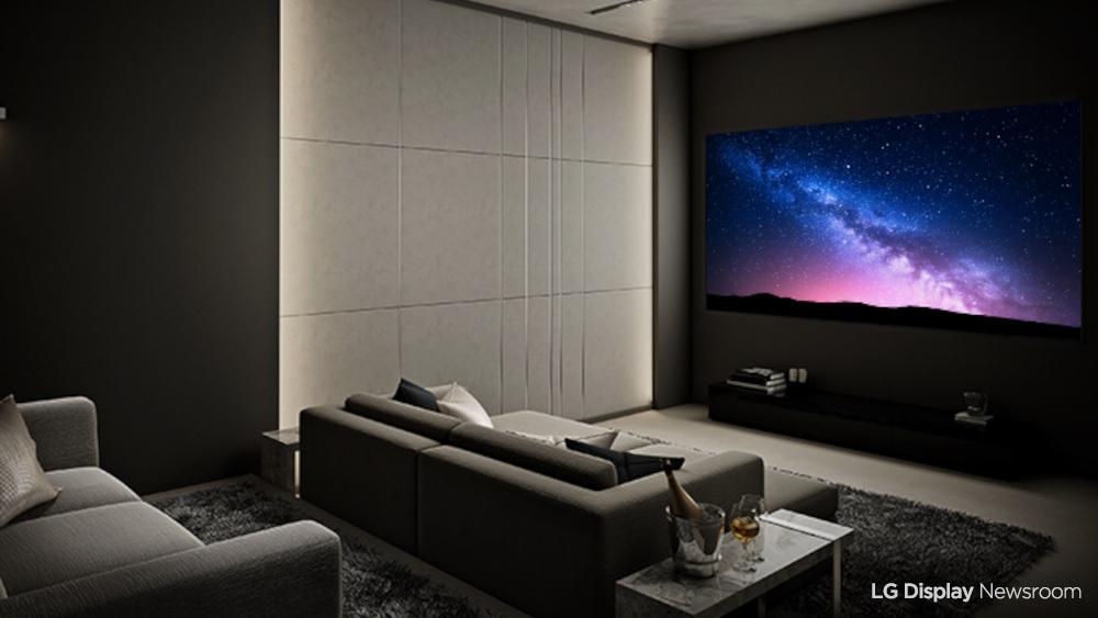 LG Display OLED TV 2021