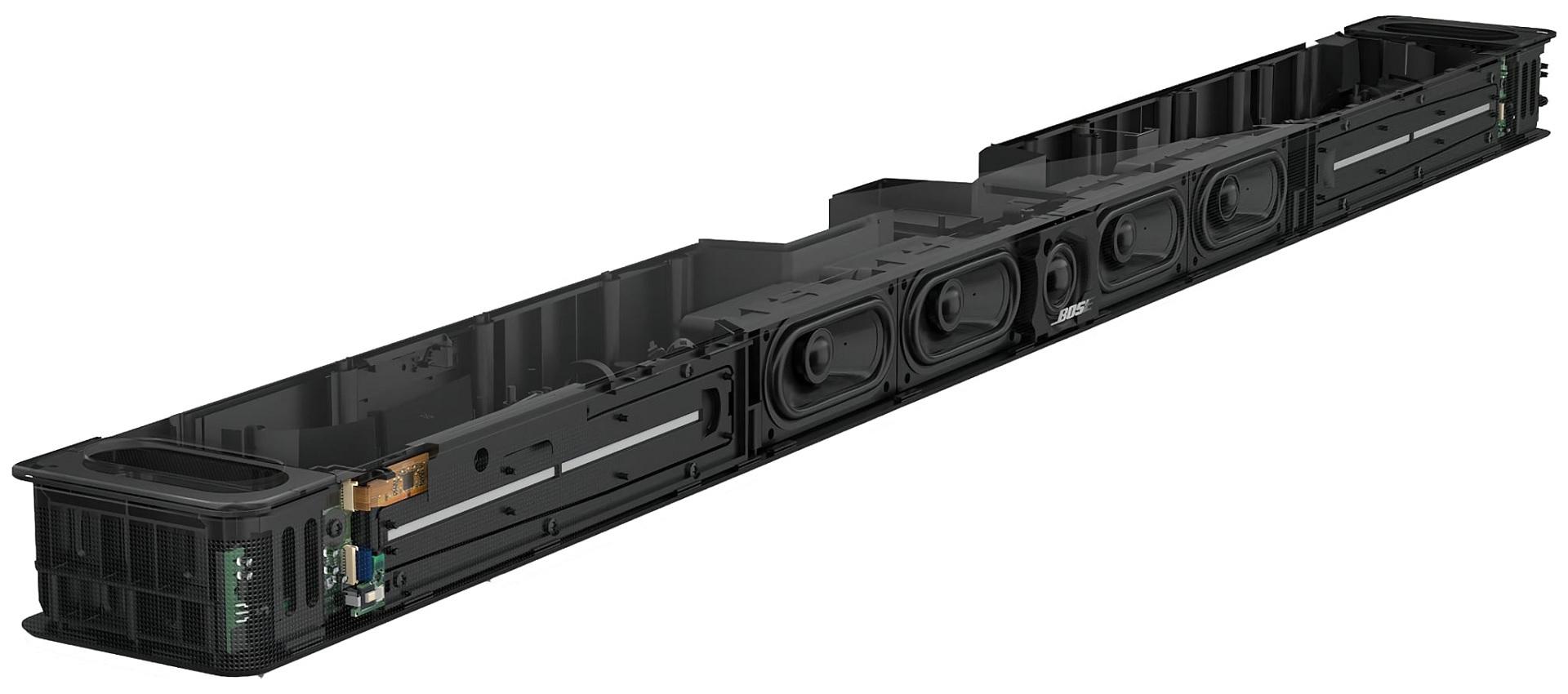 Bose Smart Soundbar 900 felépítés
