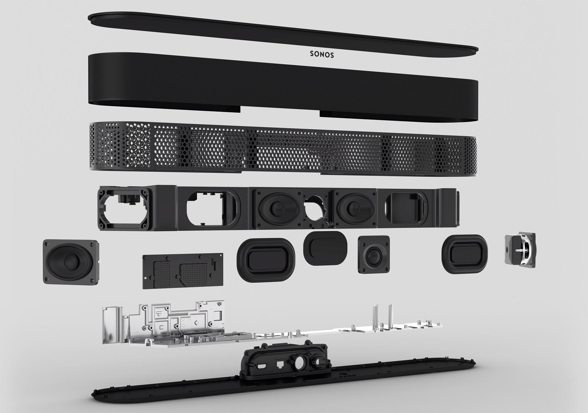 Sonos Beam Gen 2 felépítés