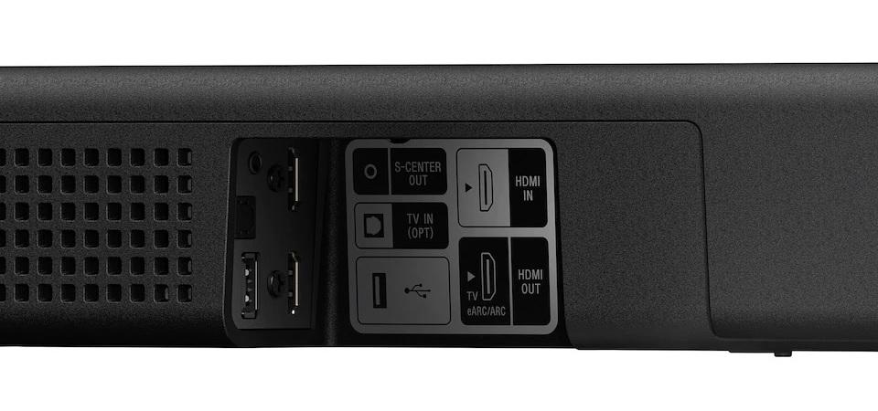 Sony HT-A5000 csatlakozók