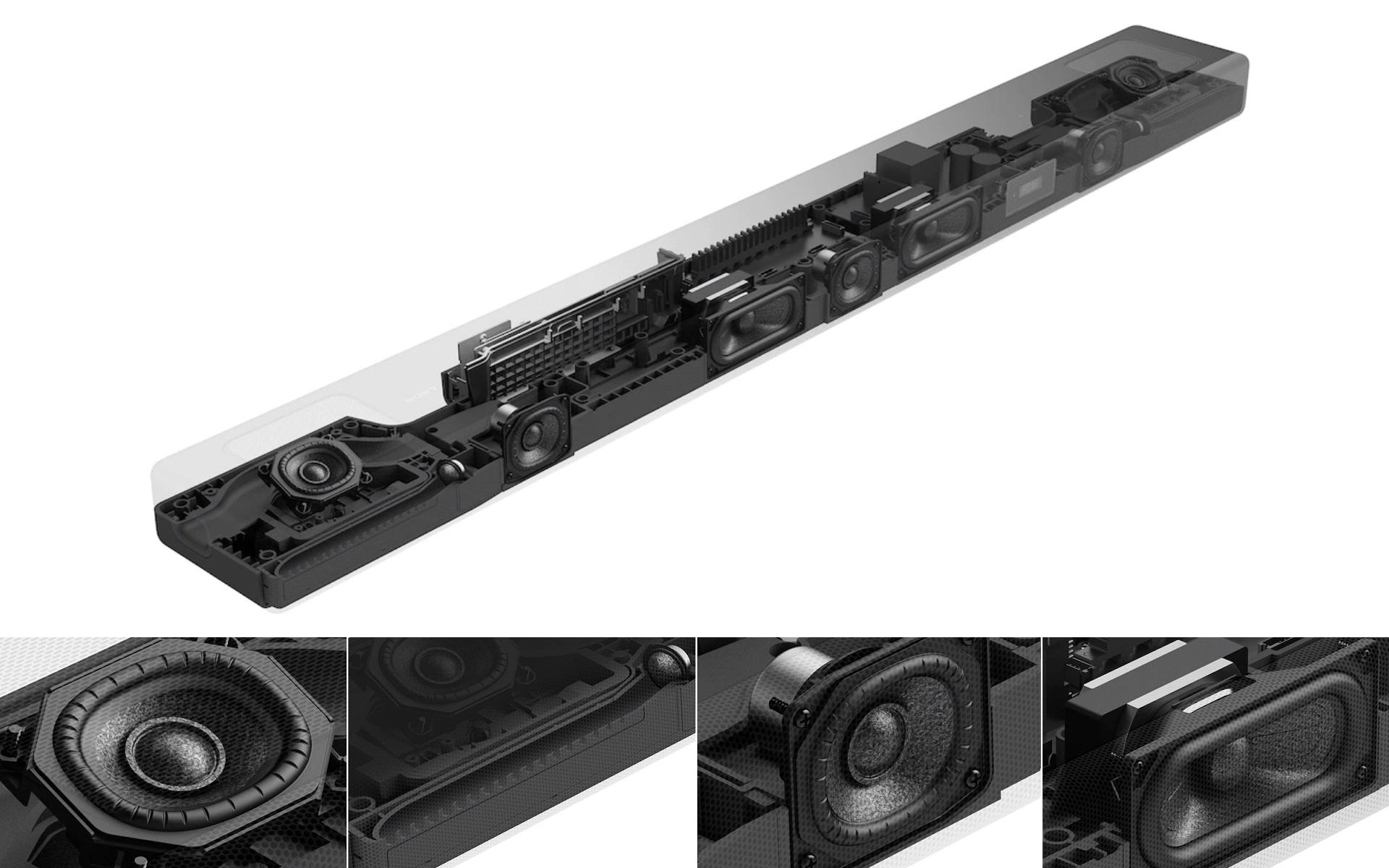 Sony HT-A5000 felépítés