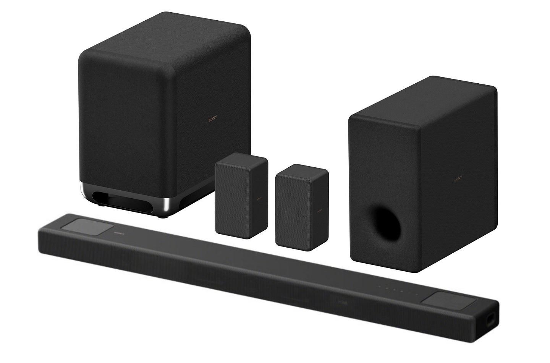 Sony HT-A5000 opcionális mélynyomók és hátsó hangsugárzókkal