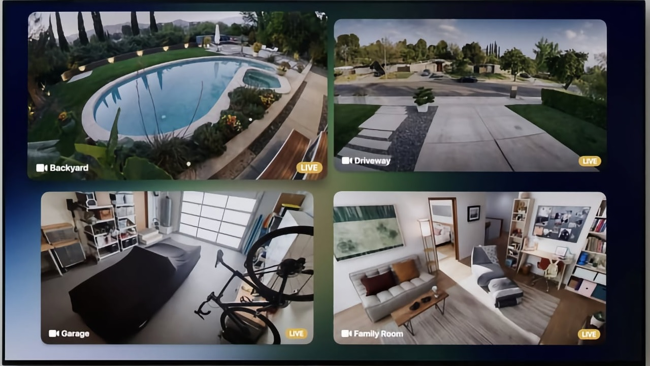 Apple tvOS 15 HomeKit kamerák