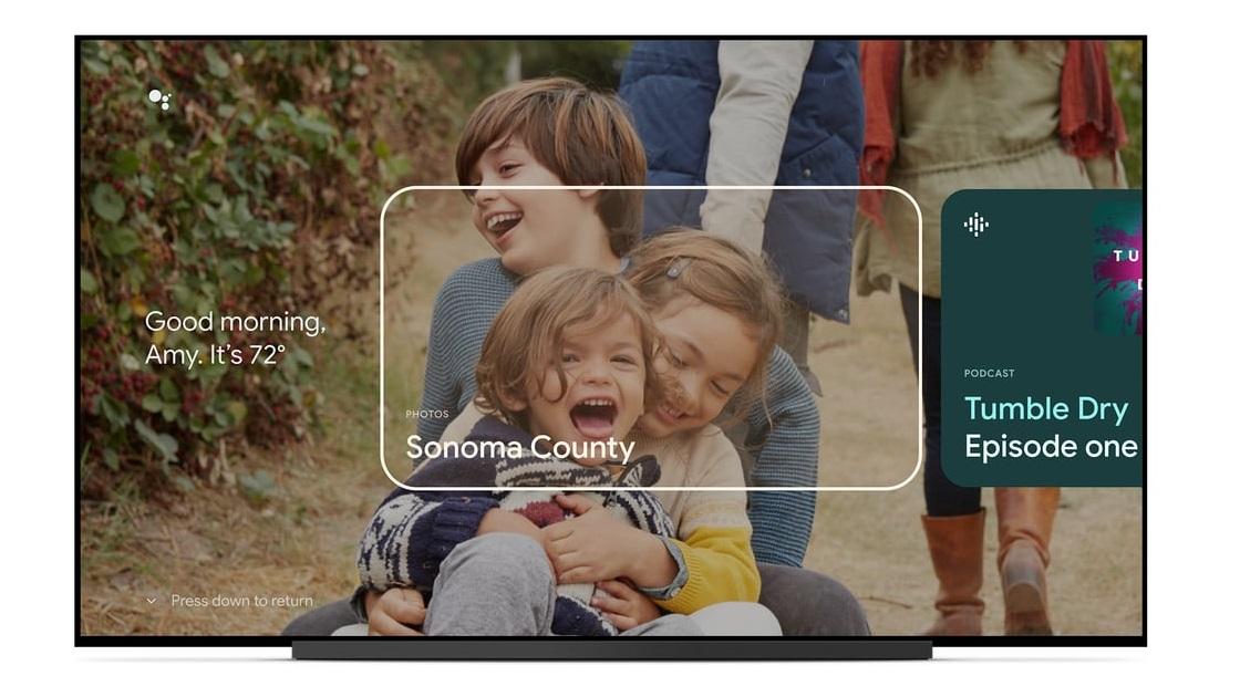 Google TV Ambient mode